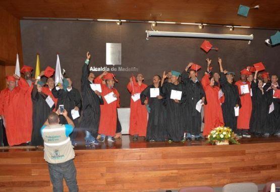 Graduación habitantes de calle Medellín