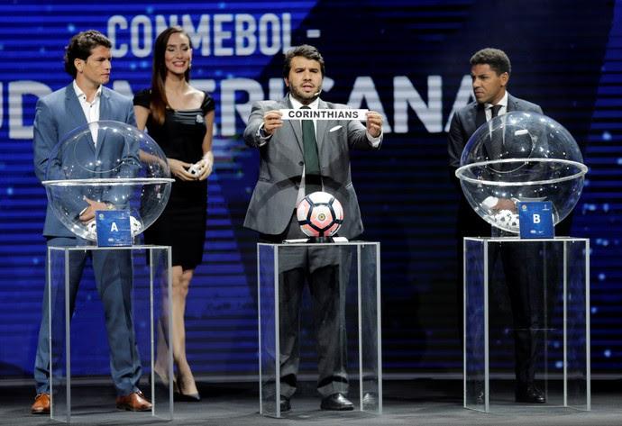 Sorteio Copa Sul-Americana Conmebol (Foto: Reuters)