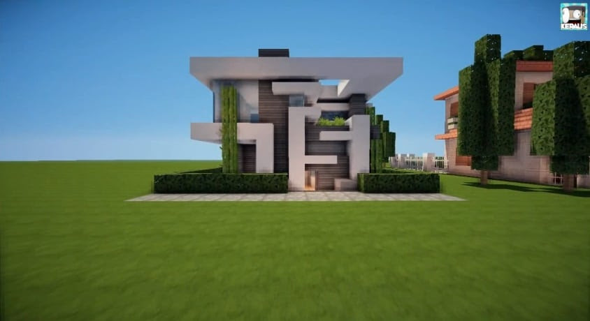 Minecraft House Design Step By Step - Omong b