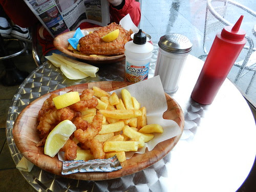 Galway day-trip - Blissful meal @ Salthill Fish & Chips