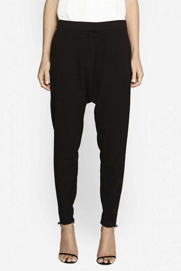 Le Fashion Blog Drop Crotch Pants Black Camilla and Marc Poker Domain Trouser Thin Black Ankle Strap Sandals  photo Le-Fashion-Blog-Drop-Crotch-Pants-Black-Camilla-and-Marc-Poker-Domain-Trouser-Thin-Black-Ankle-Strap-Sandals.jpg