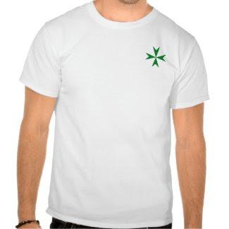 Knights of St Lazarus Pocket Cross Shirt shirt
