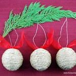 Twine Christmas   Ornaments
