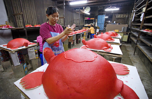 Red Turtle cakes - Por Tor Festival