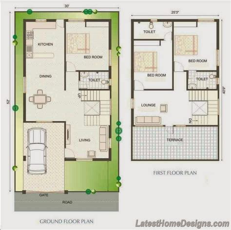 pin duplex house plan  elevation  pinterest