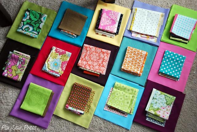 Fabric for Bee Splendid - August