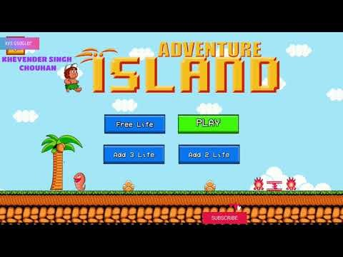 Hudson's Adventure Island 2 Arcade game Area 1 round 1 Awesome game of 90s