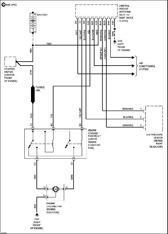 Engine Fan Wiring