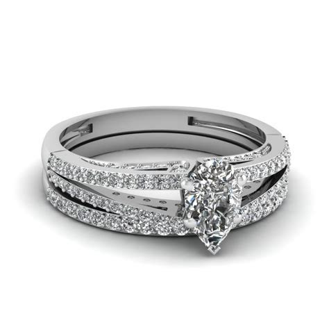 Pave Set & Micropave Engagement Rings   Fascinating Diamonds