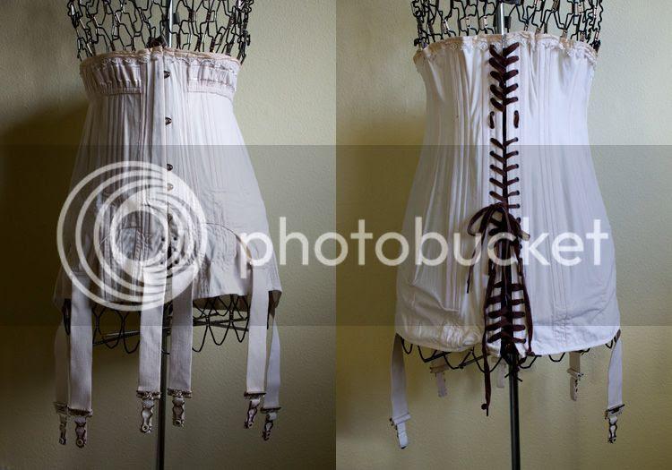 Vixen Vintage: {Edwardian corset for sale}