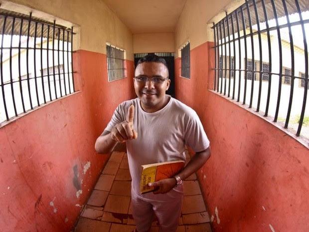 Detentos conquistam primeiro lugar em vestibulares de Belém  (Foto: Thiago Gomes/Ascom Susipe)