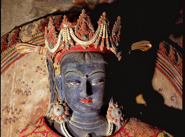 Skulptur aus Tabo