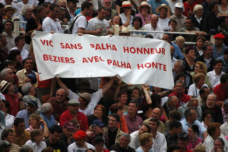 Vic sin Palha honor - Beziers con Palha vergüenza