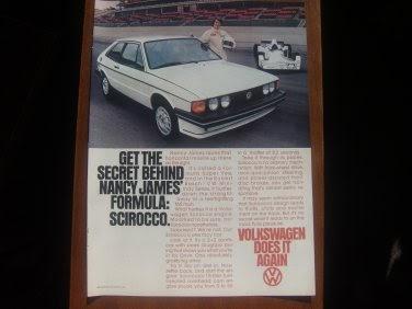 ivanhoe162 on ecrater the great ebay alternative 1978 vw volkswagen scirocco nancy james race. Black Bedroom Furniture Sets. Home Design Ideas