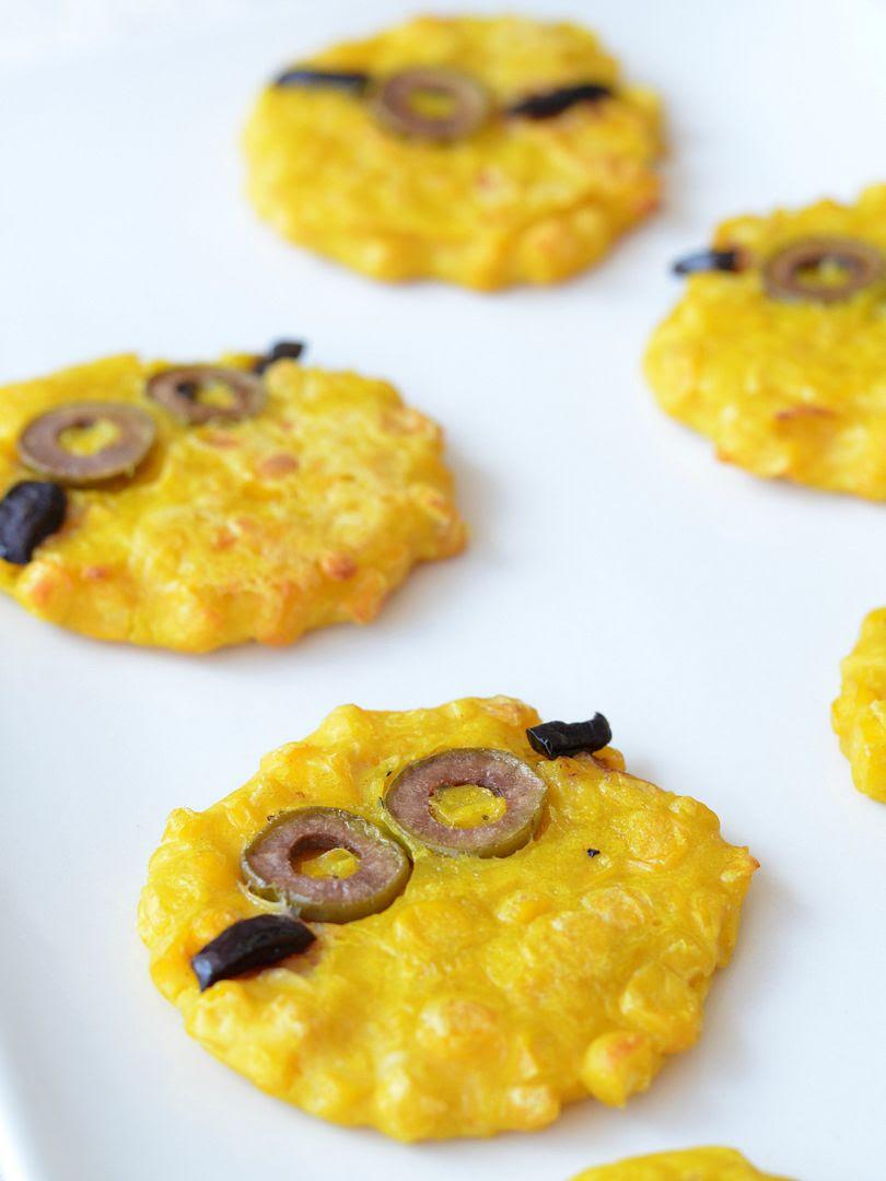 Minion Sweetcorn Fritters