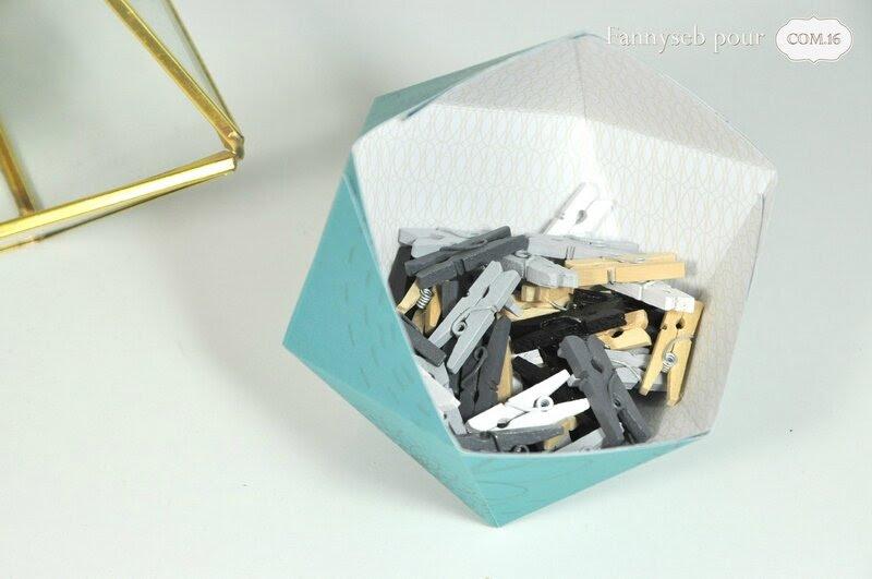 vide poche origami fannyseb 2 papiers adam lisa jeu de l'été COM16 challenge 7 SIGNATURE