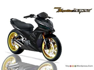 Modifikasi Motor Jupiter MX New