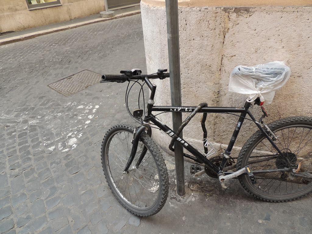 Jak Przypinać Rower Nie Tak Zdjęcia