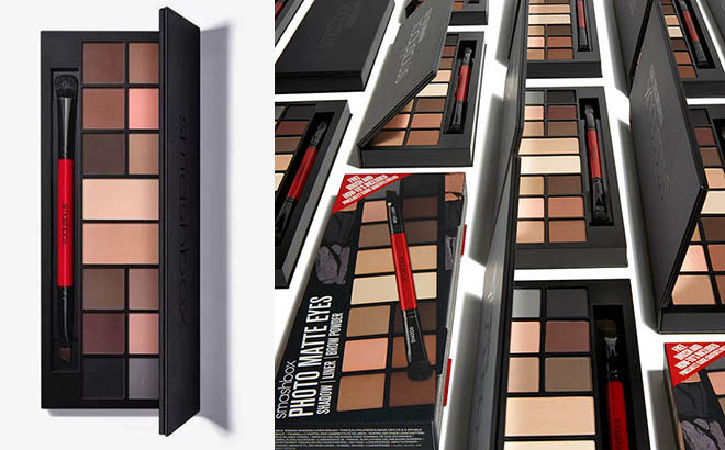 Hot Smashbox Photo Matte Eyes Palette For Only 1960 Free Shipping