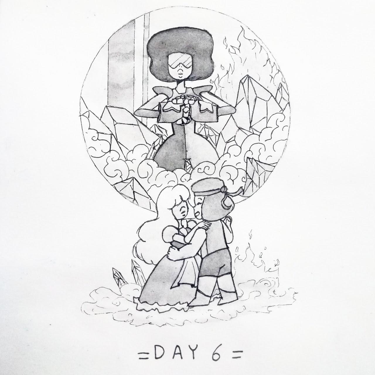Day 6: Garnet.