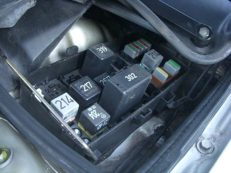 2001 Audi Tt Fuse Box Diagram