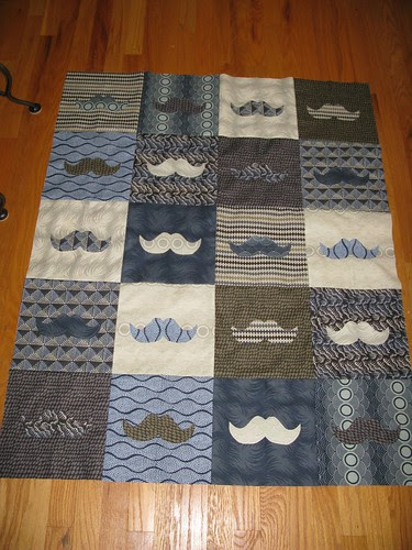 Must Dash quilt for Guy