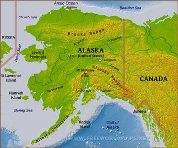 Where Is Alaska Located On The Map