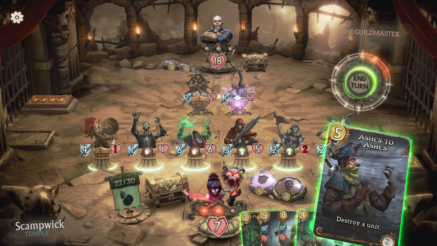 Collectible card game Fable Fortune hits PC, Xbox One next month screenshot