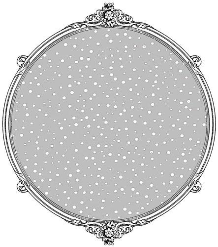 silver skies confetti snow dot paper SAMPLE