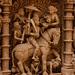 Kalki on horseback