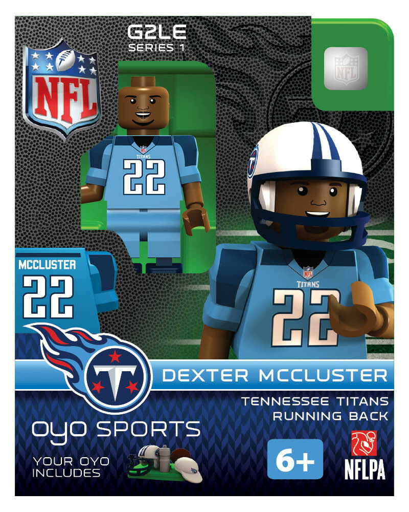Dexter Mccluster OYO Tennessee Titans NFL Football Figure G2  eBay