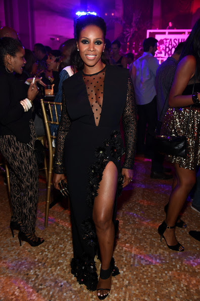 June Ambrose attends the Fashion Rocks 2014 After Party at Weylin B. Seymour's on September 9, 2014 in Brooklyn City.
