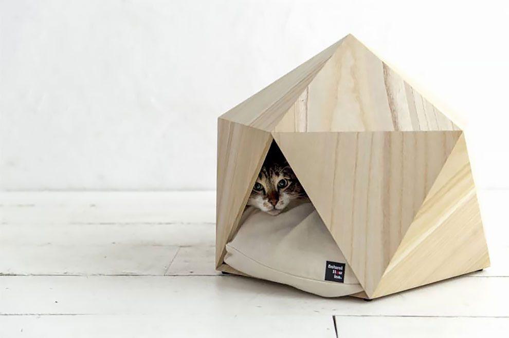 κατοικίδιό σας Γεωμετρικά σπιτάκια ιδανικά για το κατοικίδιό σας!