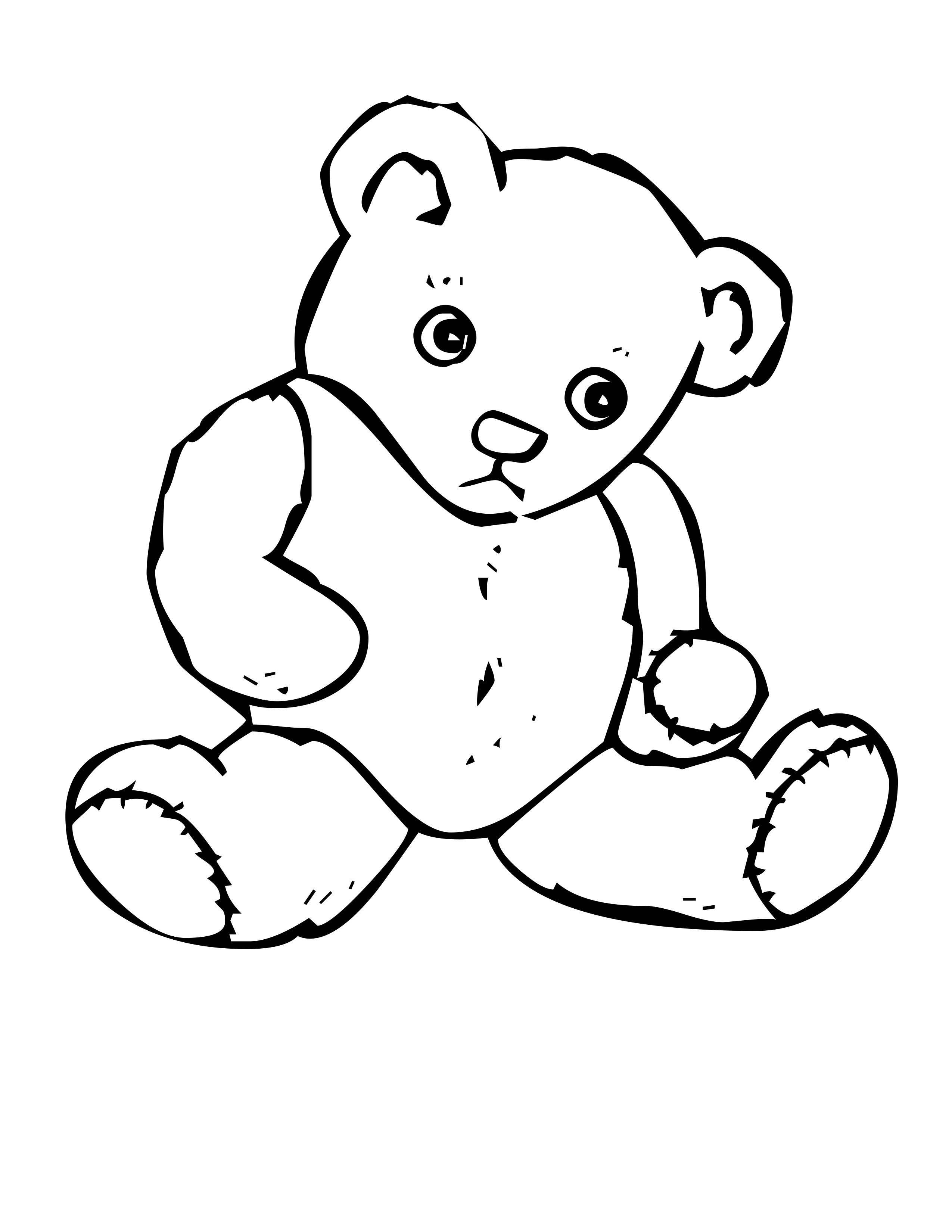 52 Coloring Pages For Bears Images & Pictures In HD