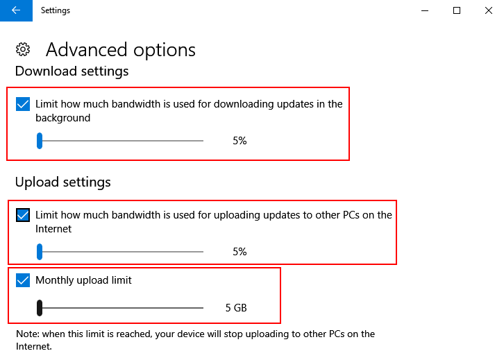 How to Reduce Internet data usage in Windows 10
