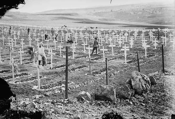 British-War-cemetery-Jerusalem-1917