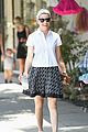 elizabeth banks steps out in skirt and heels for coffee run 03