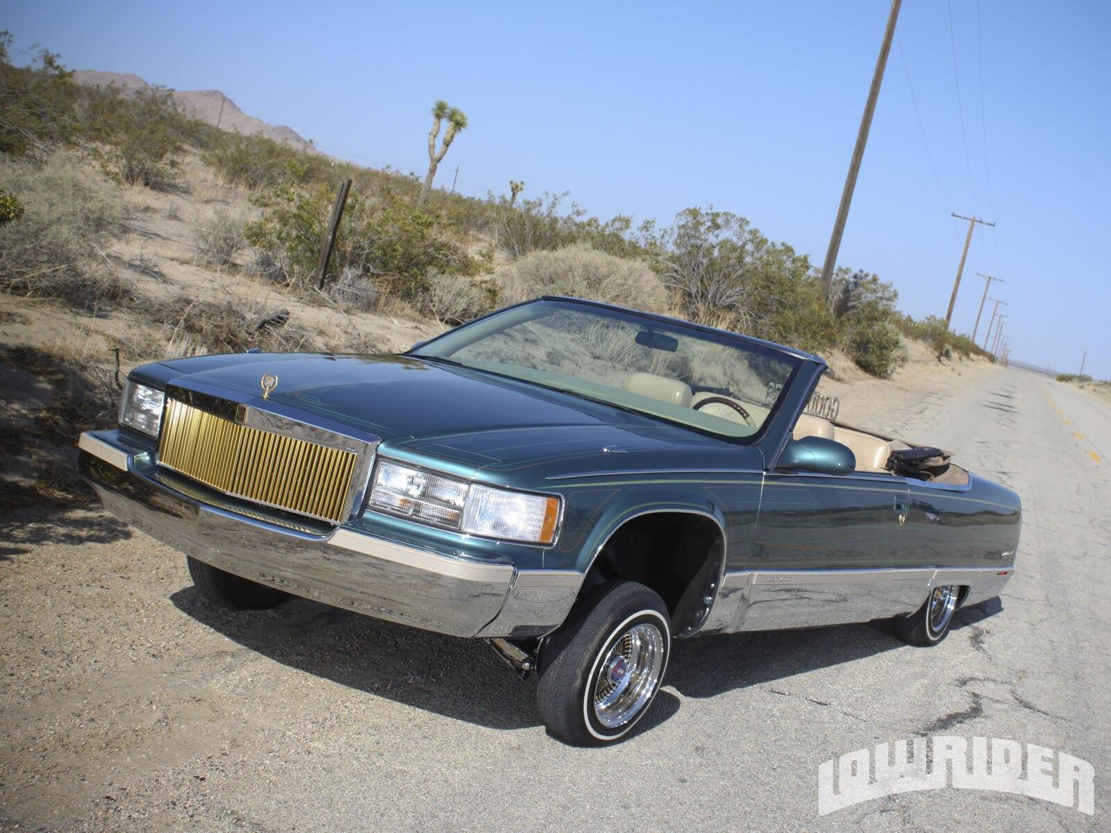 1994 Cadillac Fleetwood Convertible - Lowrider Magazine