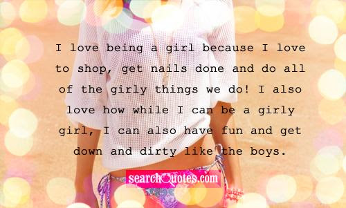 Tomboy Girly Girl Quotes Quotations Sayings 2019