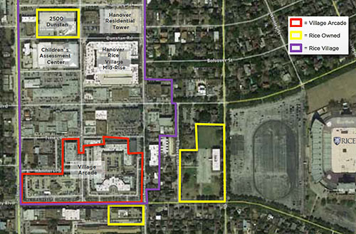 How Rice University Might Mix Up Its Rice Village ...