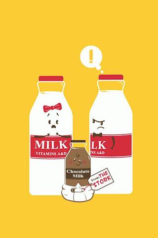 The Milk Family Iphone Wallpaper Idesign Iphone