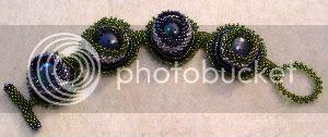 Night Garden Bezel Bracelet