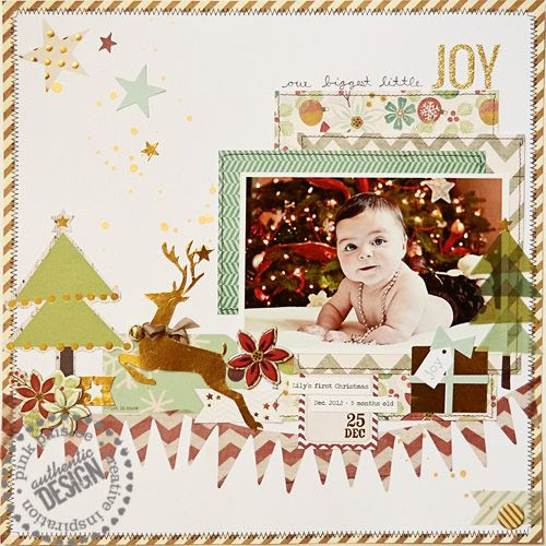 Jess Mutty for Pink Paislee using Snow Village