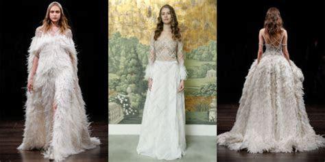 Bridal Fashion Week 2017 Wedding Dress Trends