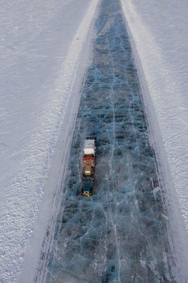طريق جليدي