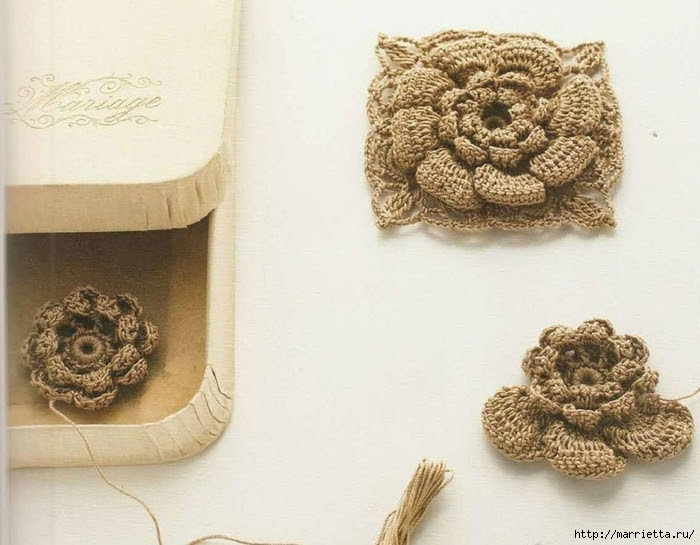 Crochet bag of floral motifs (2) (700x545, 239Kb)