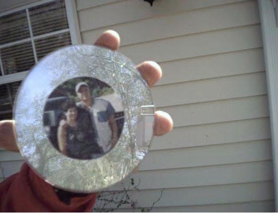CD photo frame