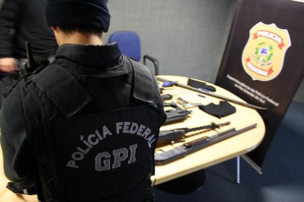 Polícia Federal prende bando que planejava assalto a banco com explosivos Polícia Federal/Divulgação