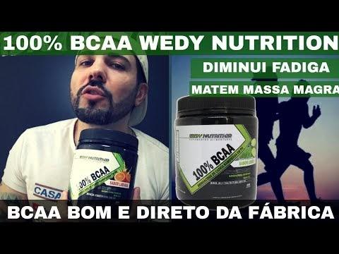 100% BCAA WEDY NUTRITION um BCAA Puro Bom e Barato Direto do Fabricante