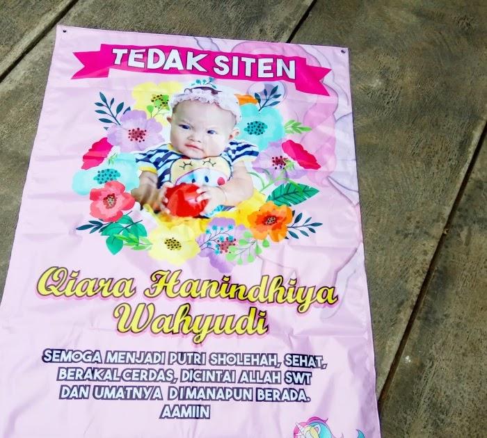 20+ New For Contoh Banner Tedak Siten - Heart and Lingszine
